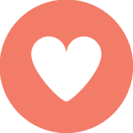 Icon heart selected